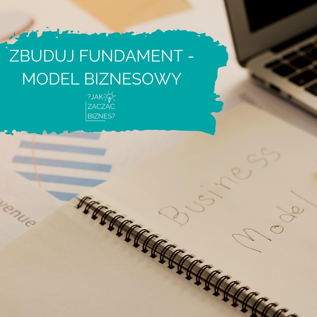 zbuduj fundament - model biznesowy