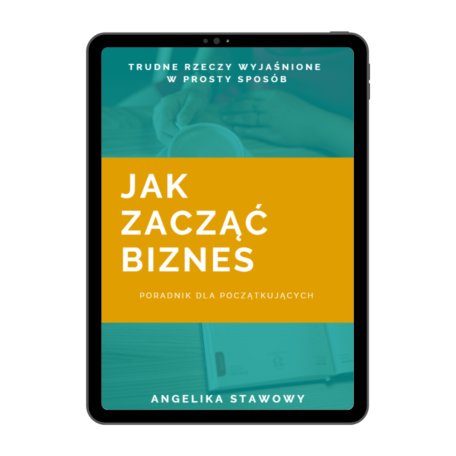 okładka e-booka Jak zacząć biznes