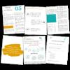 """Przykładowe strony E-booka """"Jak zacząć biznes."""""""