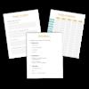 Przykładowe strony Planera biznesowego
